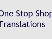 One Stop Shop Translations
