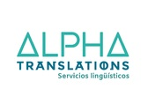 Logo ALPHA TRANSLATIONS